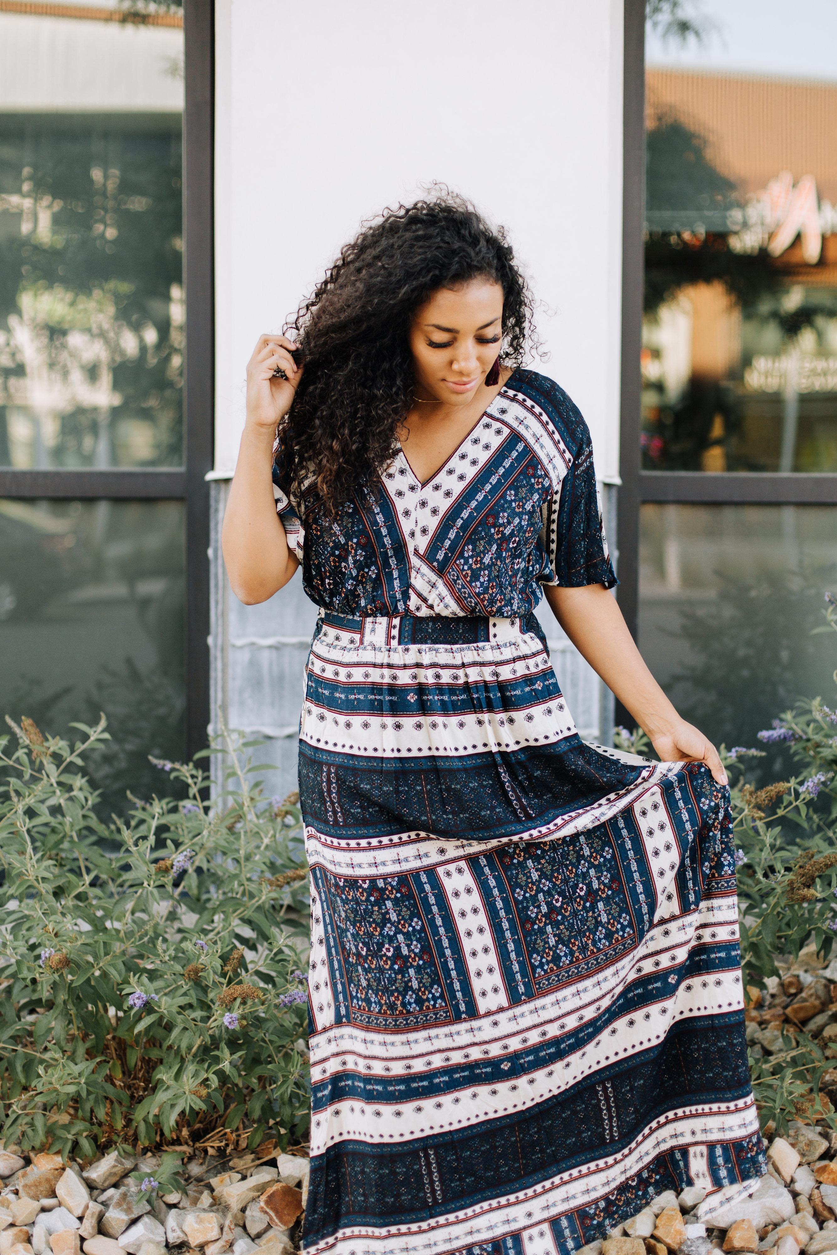 Maxi Dress and Blog Questions