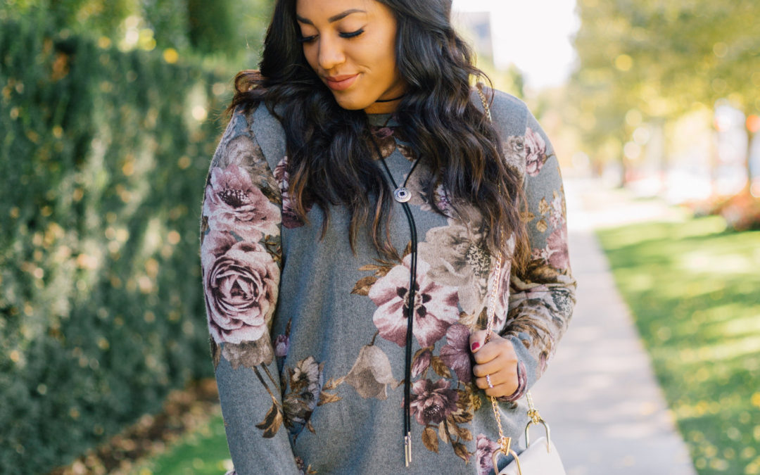 Fall Florals with Pink Blush