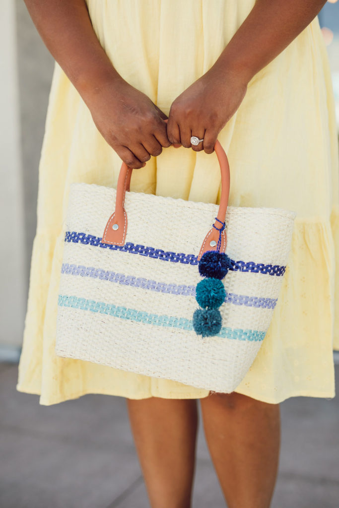 loving this straw bag