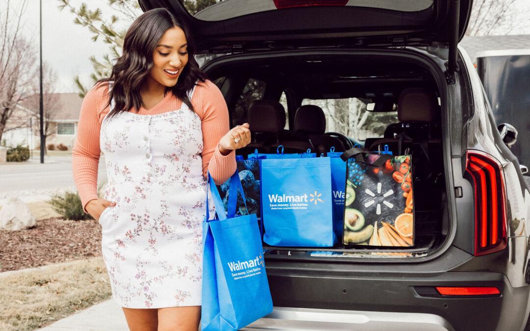Walmart's Online Pickup & Delivery- Mom Hack!